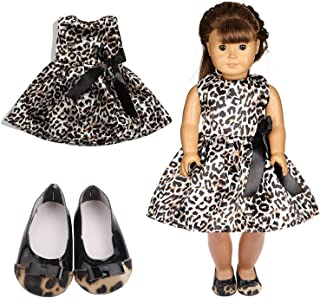 MagiDeal 2 Pair Princess Sandals Fashion Doll Dress Up Accessories for 1//4 Scale 18 inch Ball Jointed Girl Dolls