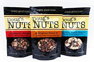 Doug's Nuts - 3 pack Variety