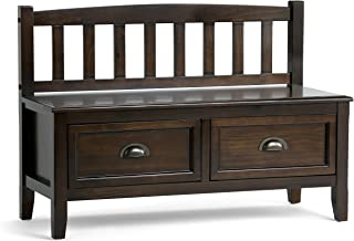 Best two drawer storage bench Reviews