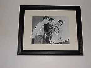 Cleveland Vinyl Framed 1956 Million Dollar Quartet Elvis Presley, Carl Perkins, Johnny Cash, and Jerry Lee Lewis Sun Studios 14
