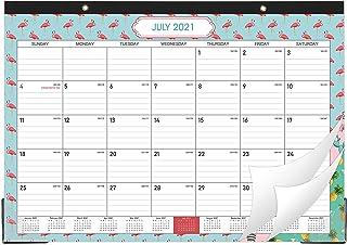 "2021 Desk Calendar - Desk Calendar Desk/Wall Monthly Calendar Pad, 17"" x 12"" Desk Pad Calendar, 12 Monthly Colorful Design..."