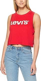 Levi's Women's Graphic Crop Tank Crop Tank New Logo