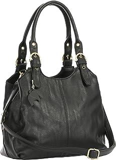 c03c1fe33b Big Handbag Shop BHBS - Sac à main pratique pour femme - Multiple poches de  rangement