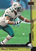 2000 SkyBox Miami Dolphins Team Set with Jason Taylor & Zach Thomas - 9 Cards