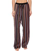 Donna Karan - Laundered Satin Long Pants