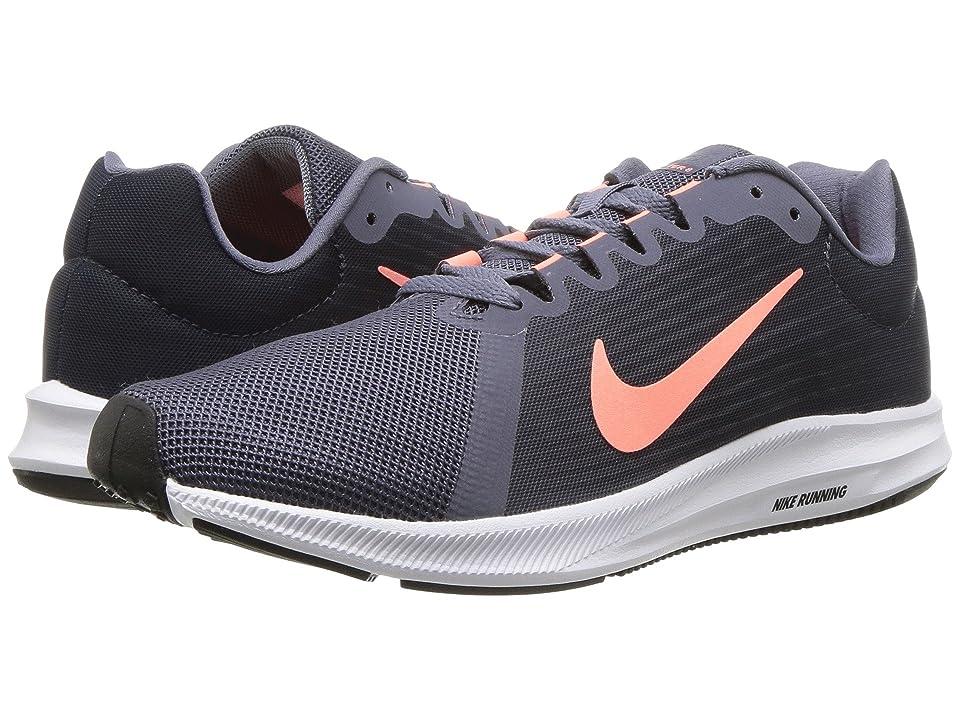 Nike Downshifter 8 (Light Carbon/Crimson Pulse/Thunder Blue) Women
