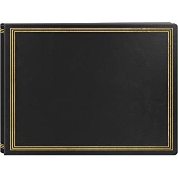 Pioneer Post-bound Deluxe Boxed Leatherette Magnetic Album Black