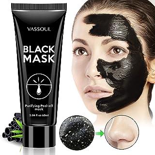 VASSOUL Blackhead Remover Mask, Peel Off Blackhead Mask, Black Mask - Deep Cleansing Facial Mask for Face & Nose (S3)