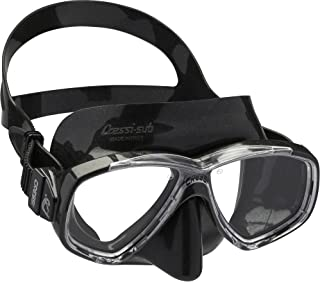 comprar comparacion Cressi Perla Mask Máscara Vidrio separada para Pesca, apnea, Snorkel y Buceo, Unisex Adulto
