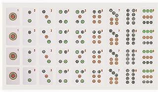 Yellow Mountain Imports American Mah Jongg (Mahjong, Mah Jong, Mahjongg, Mah-Jongg, Majiang) Tile Decals (Stickers), Set of 180