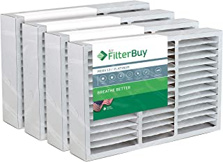FilterBuy 16x25x5 Amana Goodman Coleman York FS1625 Compatible Pleated AC Furnace Air Filters (MERV 13, AFB Platinum). Replaces Totaline P102-1625, Day and Night MACPAK16 and more. 4 Pack.