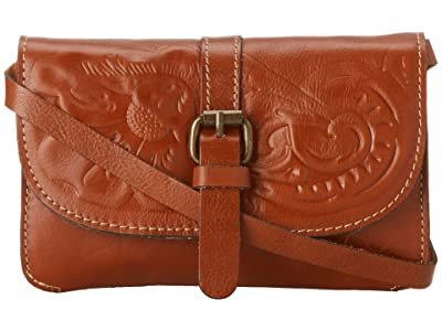Patricia Nash Tooled Torri (Florence) Cross Body Handbags