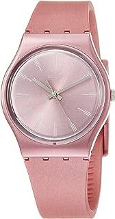 Swatch Pastelbaya GP154 Pink Silicone Swiss Quartz Fashion Watch