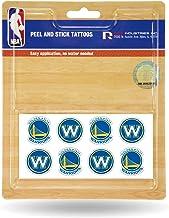 Rico Industries NBA Face Tattoos, 8-Piece Set