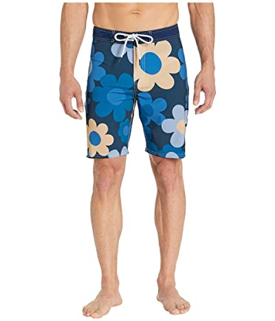 Toes on the Nose Aster Bay Boardshorts (Navy) Men