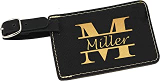 Personalized Luggage Tag - Engraved Monogrammed Custom Business Travel Accessories Gift
