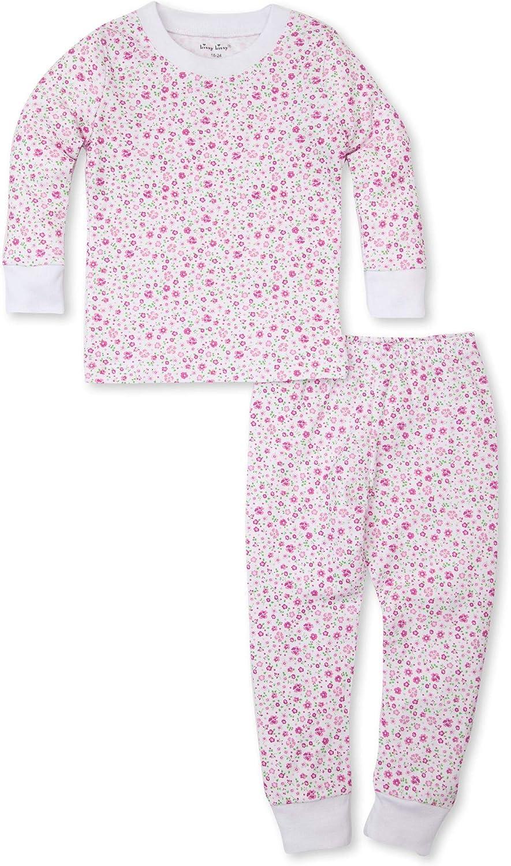 Kissy Kissy Baby-Girls Infant Les Petits Jardins Fuchsia Print Long Pajamas Set