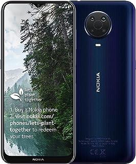 """Nokia Smartfon G20 z powiększonym ekranem 6,5"""", czterodniowy aparat 48 MP, karta SIM, 4 GB RAM, 64 GB ROM, audio OZO, obsł..."""