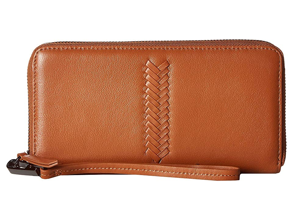 Kooba Calgary Wristlet (Caramel) Wristlet Handbags