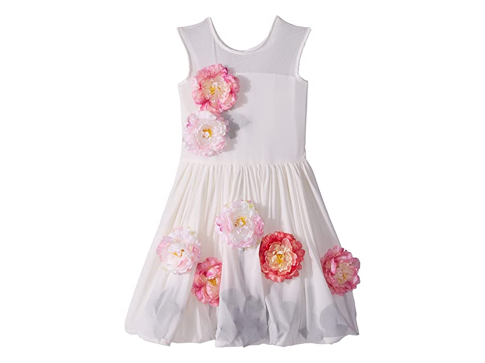 fiveloaves twofish Flowers For Me Party Dress (Little Kids/Big Kids) (Ivory) Girl