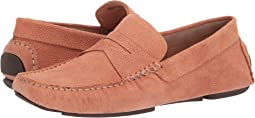 Blush Embossed Suede