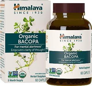 Himalaya Herbal Suplemento, Bacopa, 60 Cápsulas
