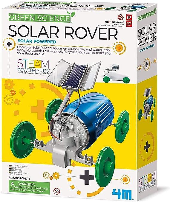 4M Green Science Solar Rover Kit for Kids