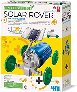 4M 3782 Green Science Solar Rover Kit DIY Solar Power, Eco-Engineering Stem Toys Educational Gift for Kids & Teens, Boys &...