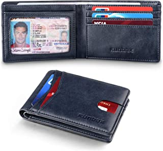 Best RUNBOX Slim Wallets for Men with RFID Blocking & Minimalist Mens Front Pocket Wallet Leather Review