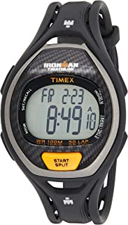 Timex Men's Digital Watch, Chronograph Display and Resin Strap T5K335
