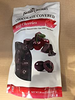 Dilettante Chocolates, Bing Cherries Chocolate Covered, 20 OZ (One Pack)