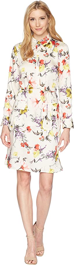 LAUREN Ralph Lauren - Floral Twill Utility Dress
