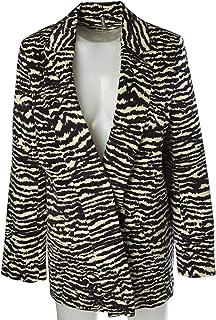NAF NAF Suit Jacket for Women, Mixed Materials