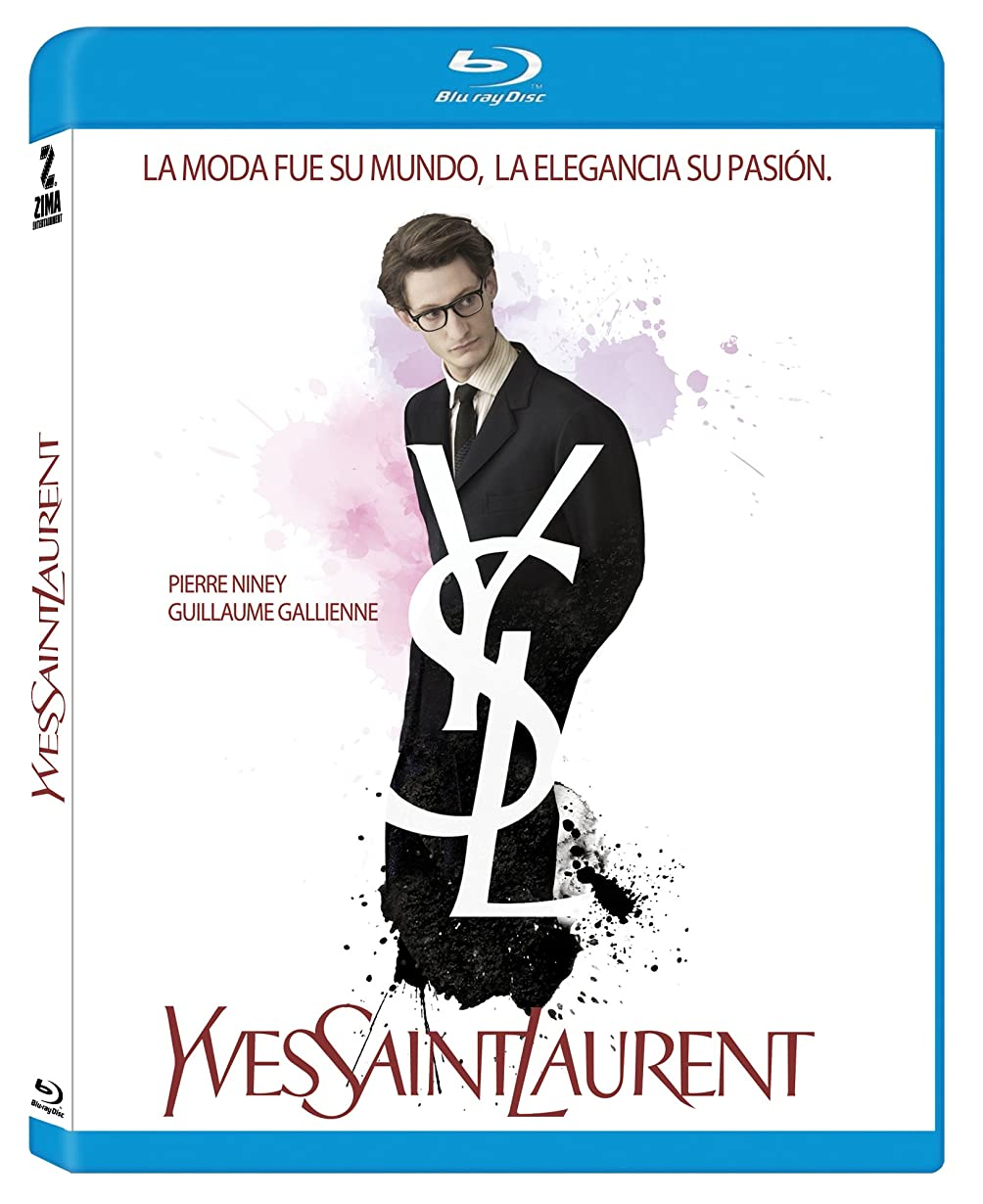 オフミット反発するYves Saint Laurent Movie Blu Ray (Multiregion) (French Audio with Spanish Subtitles / No English Options)