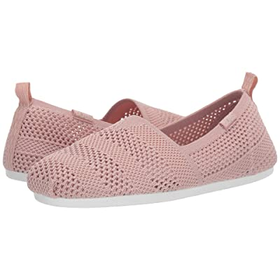 BOBS from SKECHERS Bobs Plush Twiggy (Blush) Women