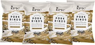 Epic Artisanal Pork Rinds, BBQ, 2.5 ounce, Low-Carb, 4 Count