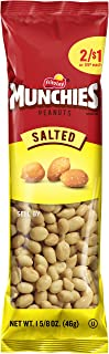 Munchies Salted Peanuts, 36 Count, 1.625 oz Bags