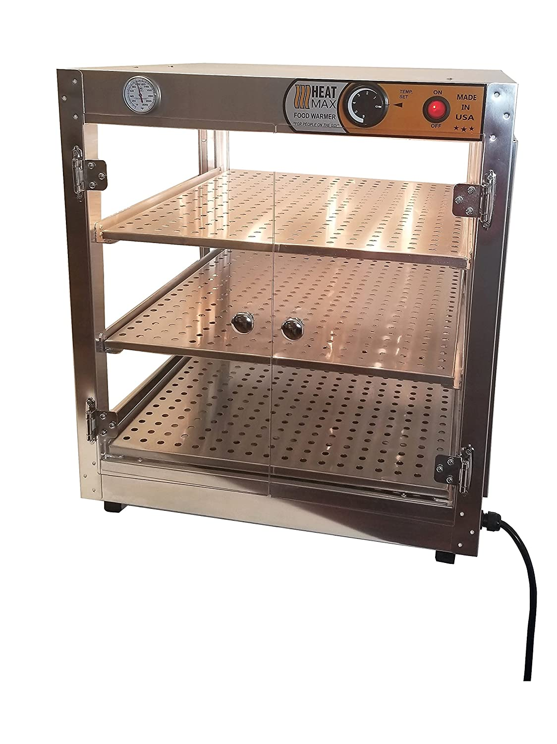 HeatMax Commercial Popular products 202024 Countertop Pizza Food Warmer Spring new work one after another and Displ