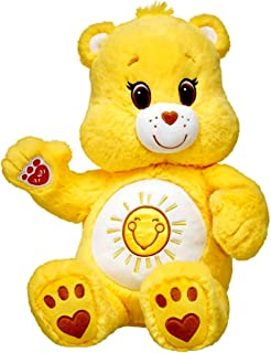 Build-A-Bear PEACE AND SMILES BEAR Teddy Black 16in Plush