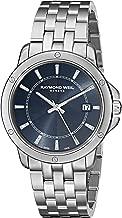 Raymond Weil Men's 5591-ST-50001 Tango Analog Display Swiss Quartz Silver-Tone Watch