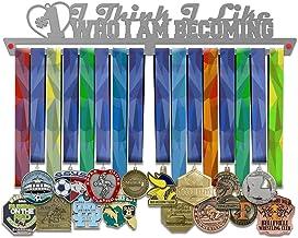 VICTORY HANGERS Ik denk dat ik hou van wie ik word medaille Display