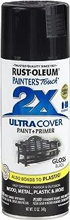 Rust-Oleum 249122-6 PK Painter's Touch 2X Ultra Cover, 12 oz, Black