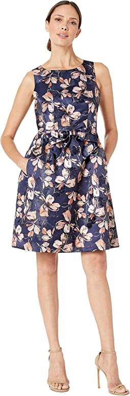 Navy Blush Floral