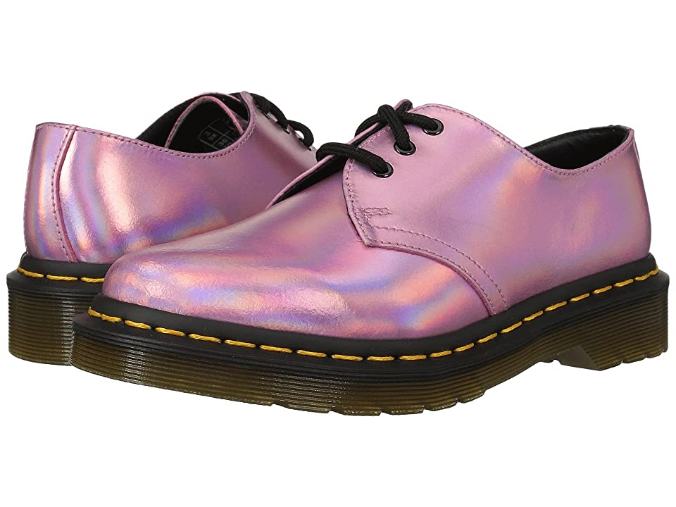 Dr. Martens 1461 RS 3-Eye Shoe (Mallow Pink Reflective Metallic Leather) Women
