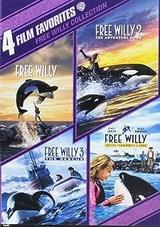 4FF:Free Willy 1-4 (90th Anv Stkr/DVD)