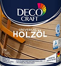 DEKO KRAFT Universal Holzöl ÖL verschiedene Farben hell