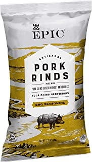 Epic Artisanal Pork Rinds BBQ, Low-Carb, 2.5 oz