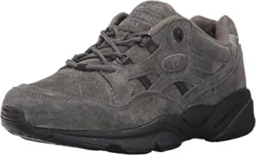 Propét womens W2034 Stability Walker Grey Size: 6 X-wide