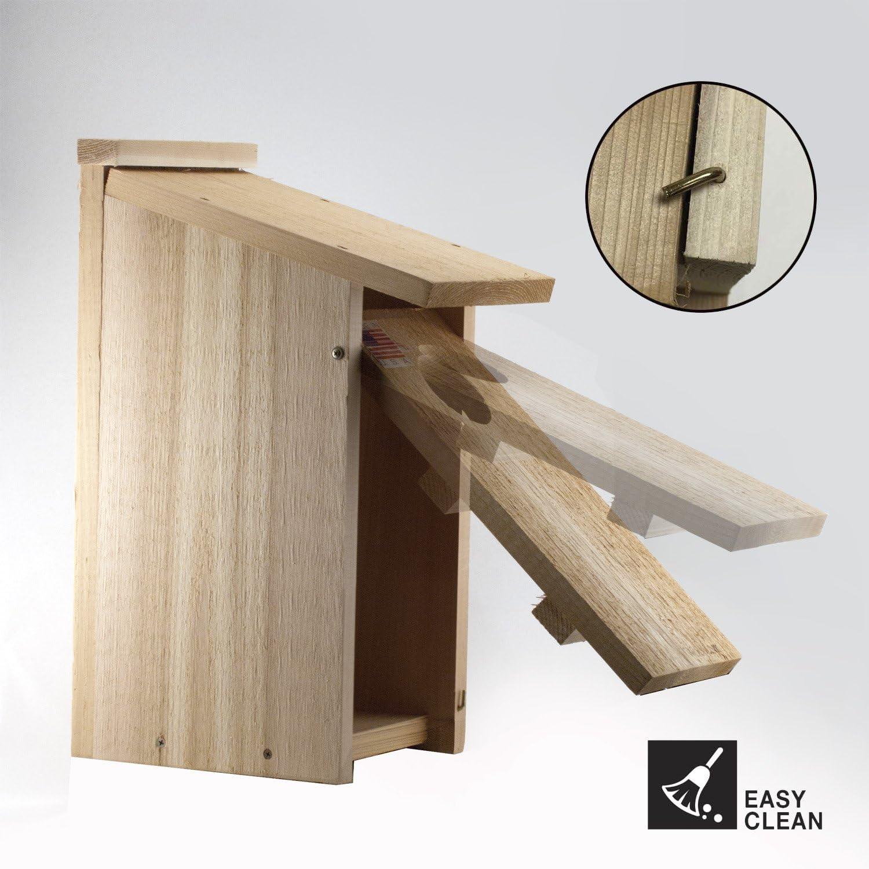 Woodlink OWL//Kestrel Screech House Pack of 2