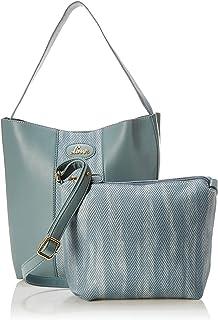 Lavie JAARA Women's Handbag with Wallet (P Blue)